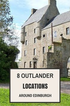 Great ideas from Suzanne of Adventures around Scotland of places to visit near Edinburgh on your trip to Scotland following your Outlander obsession.