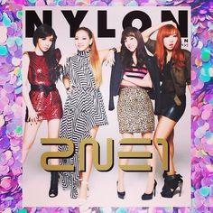 2NE1 on NYLON Japan Magazine