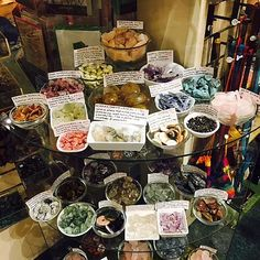 New Renaissance is the Best Crystal Shop in Portland. You will be amazed by the huge selection of tumbled stones, spheres, wands, and large display crystals. Crystal Magic, Crystal Shop, Witch Store, Stone Store, Metaphysical Store, Crystals Store, Displaying Crystals, Bead Storage, Essential Oil Candles