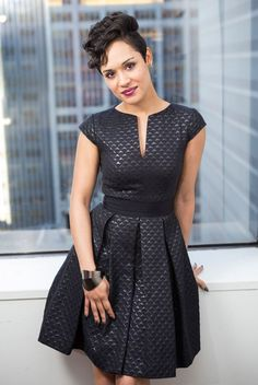 """""""Empire"""" Star Grace Gealey Gives 5 Reasons to Tune In  #InStyle #beautydresses"""