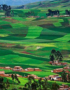 Sacred Valley od the Incas, Cuzco, Perú