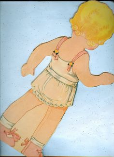 RARE Vintage Dotty Double Paper Doll 1933 by Corinne Ringel Bailey | eBay