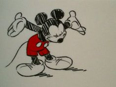 Mickey taking a bow. Disney Pixar, Disney Word, Walt Disney Characters, Disney Mouse, Disney Posters, Disney Cartoons, Disney Mickey, Mickey Mouse Sketch, Mickey Mouse Images
