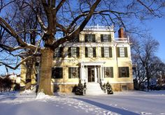 Granger Homestead & Carriage Museum in Canandaigua, NY