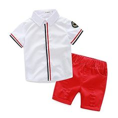 Baby Outfits, Boys Summer Outfits, Summer Boy, Toddler Boy Outfits, Short Outfits, Kids Outfits, 2017 Summer, Summer Clothes, Summer Sport