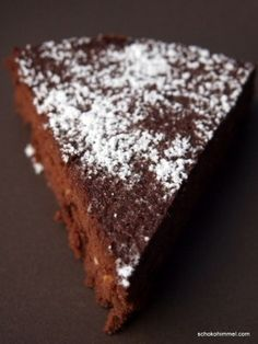 Torta Formosa - a cake like chocolate mousse, . Torta Formosa - a cake like chocolate mousse, Mini Desserts, Oreo Desserts, Quick Easy Desserts, Fall Desserts, Dessert Recipes, Recipes Dinner, Like Chocolate, Chocolate Cake, Easter Recipes