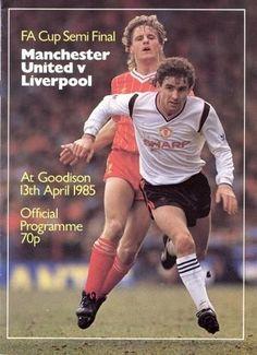 FA Cup Semi Final. 1985