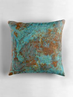 Copper Blue Teal by RochelleLee