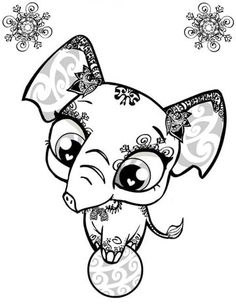 Littlest Pet Shop - Free Printable Coloring Book | PRINTABLES ...