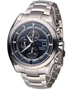 Citizen Mens Eco Drive Titanium Chronograph Watch - In Stock, Free Next Day Delivery, Our Price: Buy Online Now Rolex Watches, Watches For Men, Citizen Eco, Seiko, Chronograph, Omega Watch, Citizen Watches, Stuff To Buy, 7 Months