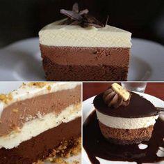 """Dacă vrei să faci un desert simplu şi rapid, poţi încerca reţeta următoare. Prăjitura """"Madagascar"""" este gata în câteva minute, fără coacere, iar gustul este fabulos. INGREDIENTE: 600 ml frişcă lichidă 200 g ciocolată amăruie 200 g ciocolată cu lapte … Continuă citirea →"""