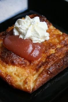 Cebicin keittiössä: Ahvenanmaan pannukakku French Toast, Breakfast, Sweet, Food, Morning Coffee, Meal, Essen, Hoods, Meals