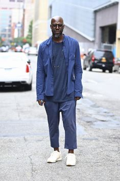 Street style from New York Men's Fashion Week