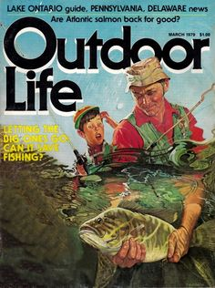 Outdoor Life Magazine March 1979 Fly Fishing Books Kayak B