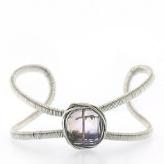 Judith Bright Jewelry - SS 1-Stone Cuff, $238.00 (http://www.judithbright.com/ss-lots-o-rocks-1-stone-cuff/)