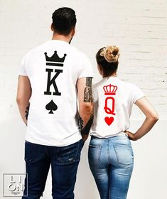 King and Queen Shirts King and Queen King and Queen Couples