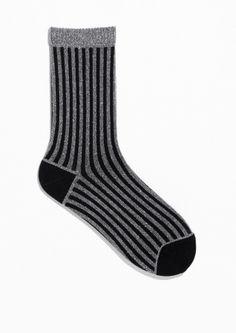 & Other Stories | Shiny Rib Socks
