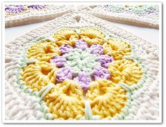 Ravelry: African Flower Square by Barbara Smith