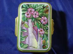 Halcyon Days English Enamel small snuffstyle  by ElaineCollection, $500.00