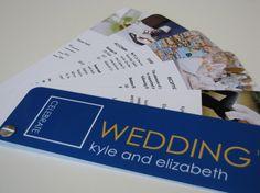 Swatch Book Wedding Invitation