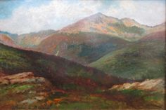 """Mount Adams,"" Maria a'Becket, oil on canvas, The Banks Gallery"