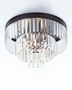 H8N3Q Palatial 3-Light Semi-Flush Ceiling Light