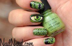 Hulk nails | LUUUX
