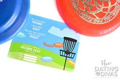 Invitation to a frisbee golf date!
