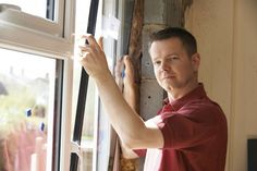 When Should I Repair or Replace My Windows?When your old windows are in need of an upgrade, it can be difficult to know whether replacing or repairing your glass windows is the better choice. Upvc Windows, Old Windows, Large Windows, Windows And Doors, Home Design Diy, Door Casing, External Doors, Door Seals, Glass Replacement