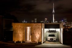 Mai Mai House - Architecture by Patterson Associates World Architecture Festival, House Architecture, Architect House, Built Environment, Facade, Building, Architects, Inspiration, Auckland