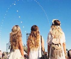 festival style #hair #style #festivals #coachella