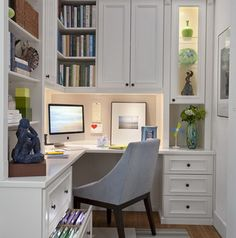 Charming Home Office Design And Layout Ideas_16
