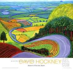 Learning To Paint: A Journey of Self Discovery: David Hockney - An Inspiration