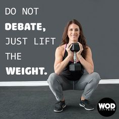 Let your results do the talking. 💪 . . #wodfitters #crossfitnation #strongmindset #bodygoals #fitnessmotivation #lesstalkmoreaction Functional Training, Cross Training, Crossfit, Mindset, Fitness Motivation, Sporty, Strong, Style, Swag