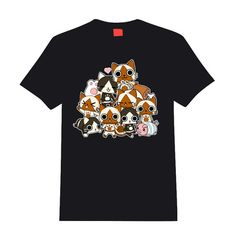 Monster Hunter Airou / Felyne t-shirt by linkitty on Etsy