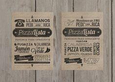 PizzaLista - 2013 by DotHaus , via Behance