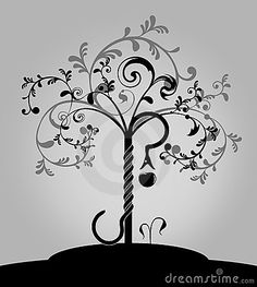 Knowledge symbol google search craft ideas pinterest for Tree of knowledge of good and evil tattoo