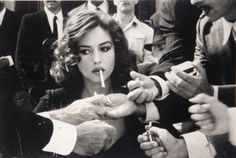 Vintage Smoking Photography Of The Girl Every Man Wants And Who Every Girl Wants To Be