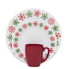 Impressions™ line embodies both timeless tradition and updated tren. Christmas Dinnerware, Christmas Dishes, Noel Christmas, Vintage Christmas, Christmas Ideas, Corelle Sets, Corelle Dishes, Corelle Patterns, Dinnerware Sets