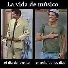 Jajaja la vida de MUSICO #donramon