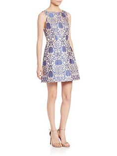 Alice and Olivia - Carrie Brocade Dress