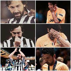 Legends. #Pirlo #Buffon #juve