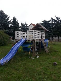 Pallet Play-house For Kids