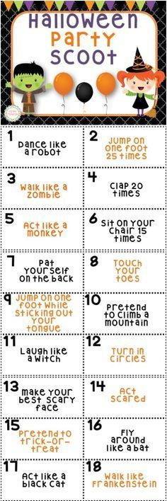 Halloween Party Games for children and adults. | Movie trivia ...