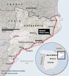 Catalan Separatists to Link for Independence Cause