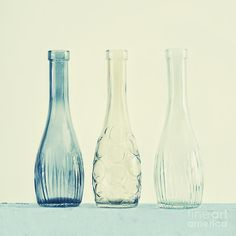 Simplicity Photograph - Powder Blue by Priska Wettstein