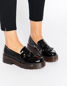 Chunky loafers.