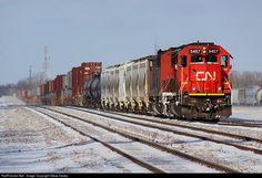 RailPictures.Net Photo: CN 5457 Canadian National Railway EMD SD60 at Pontiac , Michigan by Steve Davey