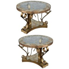 Pair of 50's Side Tables by Arturo Pani