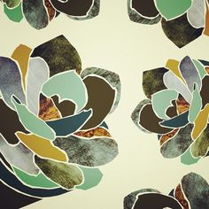 THERESA BERENS http://theresaberens.com Pretty little plants pattern no. 1 #illustration #design #pattern #surfacedesign #abmpatternlove #illustrationgram #floral #dsshapes